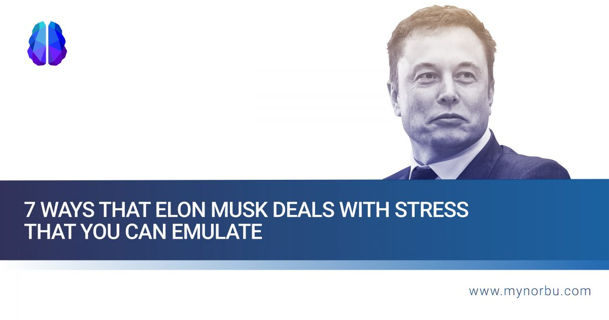 7 ways that Elon Musk deals with stress that you can emulate